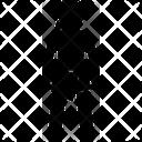 Mini Skirt Dressing Fabric Icon