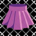 Mini Skirt Clothes Icon