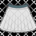 Clothes Garments Mini Skirt Icon