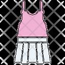Mini Skirt Skirt Lady Icon