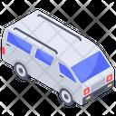 Mini Transport Coach Icon