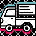 Mini Truck Travel Icon
