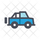 Mini Truck Freight Container Pickup Truck Icon