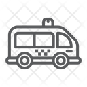 Mini Bus Automobile Icon