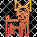 Miniature Pinscher Dog Icon