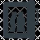 Minibar Fridge Mini Icon