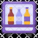 Beverages Hotel Fridge Refrigerator Icon