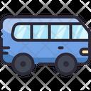 Minibus Car Vehicle Icon