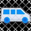 Van Transport Mini Coach Icon