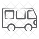 Minibus Microbus Mini Coach Icon