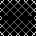 Minimise Arrows Fold Icon