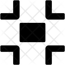 Minimize Resize Arrows Icon