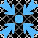 Minimize Web Shrink Icon