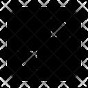 Minimize Shrink Screen Icon