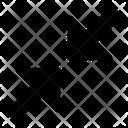 Minimize Arrows Minimise Icon