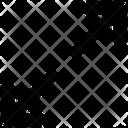 Arrow Close Minimize Icon Icon