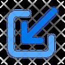 Minimize Inside Internal Icon