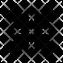 Minimize Resize Arrow Icon
