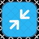 Minimize Resize Reduce Icon