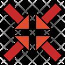 Minimize Collpase Sign Icon