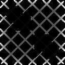 Minimize Reduce Arrow Icon