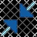 Minimize Collapse Scale Icon