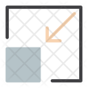 Minimize Resize Small Icon