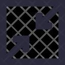 Minimize Arrows Screen Icon