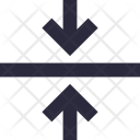 Minimize Shrink Arrows Icon