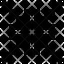 Minimize Arrow Minimize Small Screen Icon