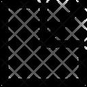 Arrow Down Chart Icon