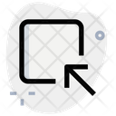 Minimize Box Icon