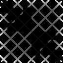 Minimize Reduce Diagonal Icon