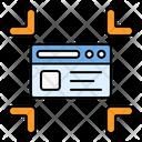Minimize Reduce Resize Icon