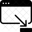 Minimize website Icon