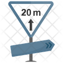 Minimum Distance Icon