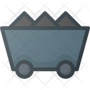 Mining Cart Industry Icon
