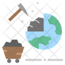 Mining Geology Ore Icon