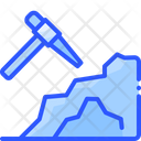 Mining Cave Pickaxe Icon