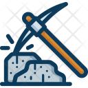 Pickaxe Blockchain Cryptocurrency Icon
