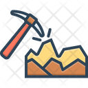 Mining Equipment Break Icon