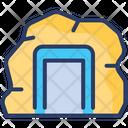 Mining Extraction Analysis Icon