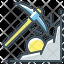 Cryptocurrency Mine Mining Icon