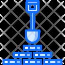 Mining Shovel Mine Icon