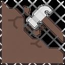 Mining Gold Mining Hammer Icon