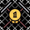 Pickaxe Mining Coin Icon