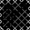 Miner Mining Bitcoin Icon