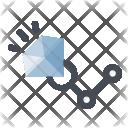 Mining Jewelry Diamond Icon