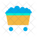 Mining Cart Cart Construction Cart Icon