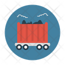 Mine Coal Delivery Icon